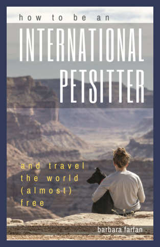 how to be an iunternational petstiter and travel the world for practically free book