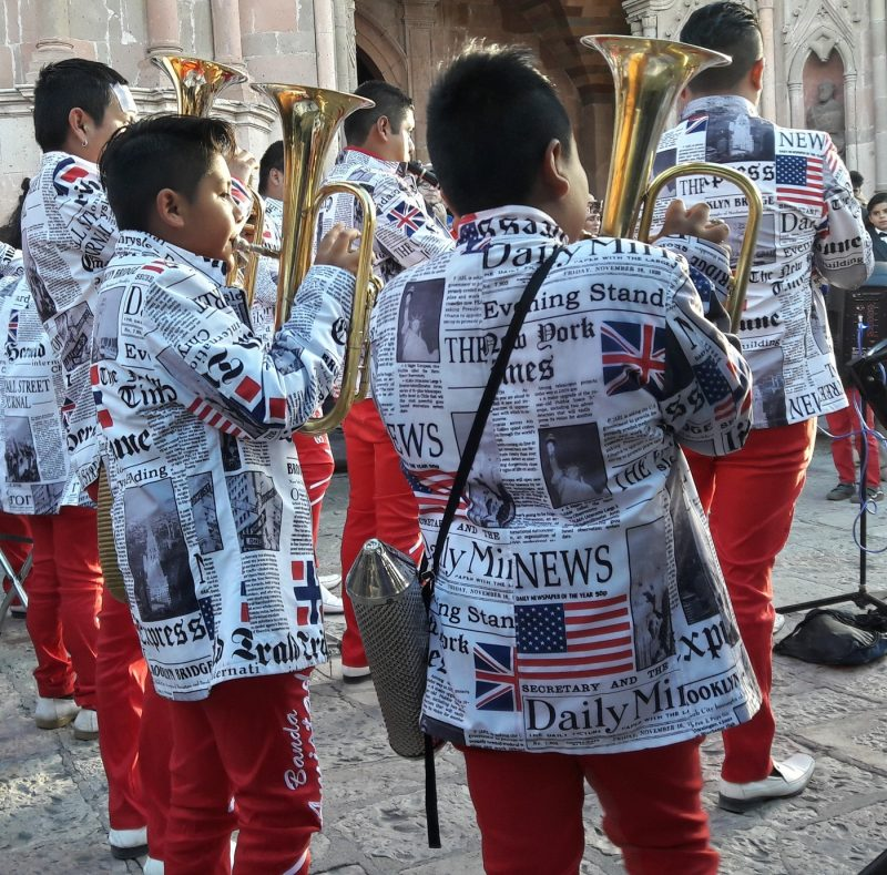 People parades music processions UNESCO World Heritage Site San Miguel Allende Mexico Live Like a Local 3