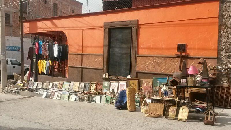 Sidewalk Street Vendor Shopping UNESCO World Heritage Site San Miguel de Allende Mexico Live Like a Local