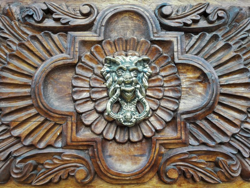 hand carved artisan wood door UNESCO World Heritage Site San Miguel Allende Mexico Live Like a Local 3