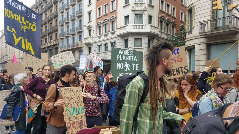 what is internationalpetsitting barcelona spain street protest pet sitter barbara farfan
